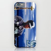 iPhone & iPod Case featuring Ken Griffey Jr Seattle Mariners   by The Squatcher