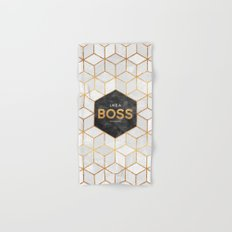 Like a boss Hand & Bath Towel