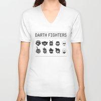Darth Fighters Unisex V-Neck