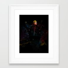 Into The Unknown. Framed Art Print