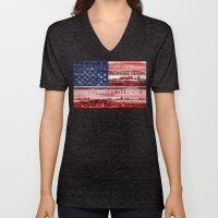My America Unisex V-Neck