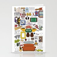 collage Stationery Cards featuring Collage by Loverly Prints