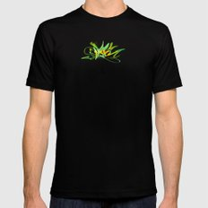 3d graffiti - NYC SMALL Mens Fitted Tee Black