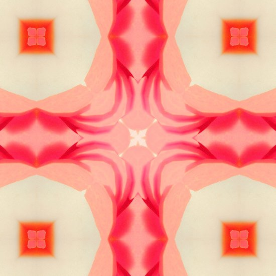 Pink Yams Art Print