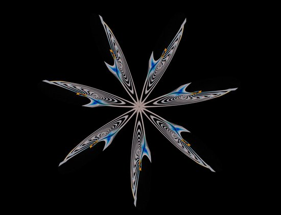 Fractal Star Art Print