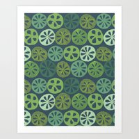 Lotus Root Art Print