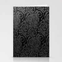 Black Lace Stationery Cards