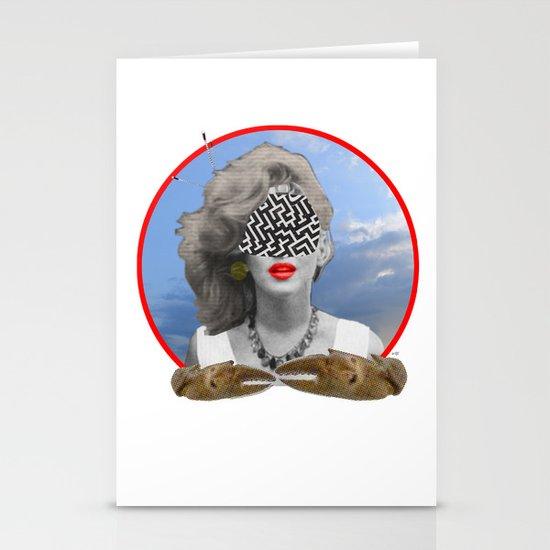 I had a dream, last night... Stationery Card