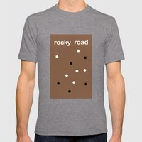 Rocky Road Mens Fitted Tee Tri-Grey SMALL