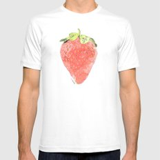 La Fraise Mens Fitted Tee White SMALL