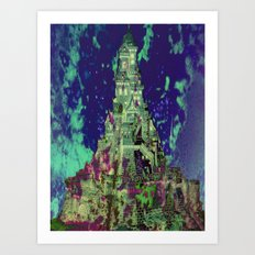 The Castle of Ghosts Art Print