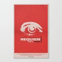 Requiem For  A Dream Canvas Print