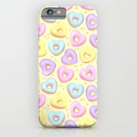 iPhone & iPod Case featuring I Heart Donuts by Petra van Berkum