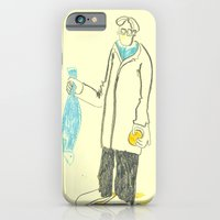 Pez y naranja iPhone 6 Slim Case