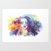 Ultraviolence Art Print