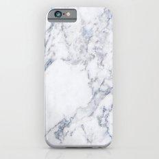 White Marble Slim Case iPhone 6s