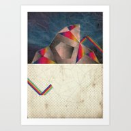 Art Print featuring SpaCE_oToLanD by Marco Puccini