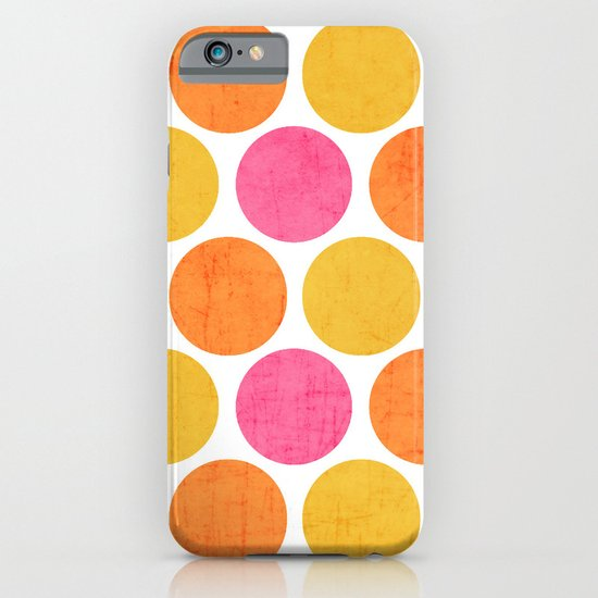 summer polka dots iPhone & iPod Case