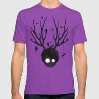 Dear Imaginary Friends Mens Fitted Tee Ultraviolet SMALL