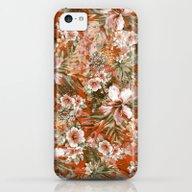 Tropical Orange iPhone 5c Slim Case