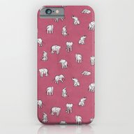 Indian Baby Elephants In… iPhone 6 Slim Case