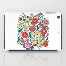 Hungarian embroidery motifs iPad Case