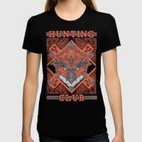 Hunting Club: Rathalos Womens Fitted Tee Black SMALL