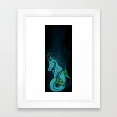 Kelpie the Hippocampus  Framed Art Print