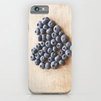 Blueberry Heart iPhone 6 Slim Case