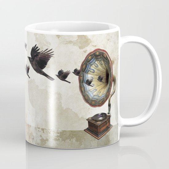 the sound of crows Mug
