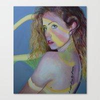 Hershey Kissed Canvas Print
