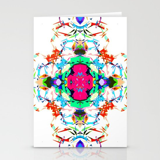 Geometric Stationery Card