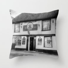 The Coopers Arms Pub Rochester Throw Pillow