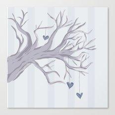 Cold Cold Heart Canvas Print