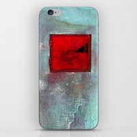 VENTANA EN EL MURO iPhone & iPod Skin