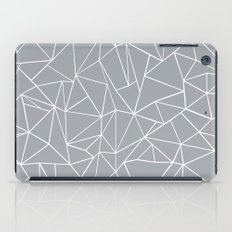 Abstraction Outline Grey iPad Case