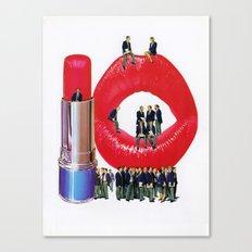 Lipstick Jungle Canvas Print