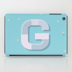 G is for Glamorous iPad Case