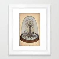 Terrarium #3 Framed Art Print