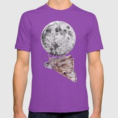 In Which A Moth Is Entic… Mens Fitted Tee Ultraviolet SMALL