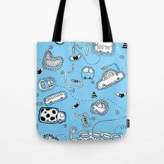 Vehicle Doodle (: Tote Bag