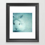 Blue Eyes III Framed Art Print