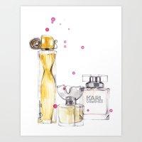 Perfumes1 Art Print