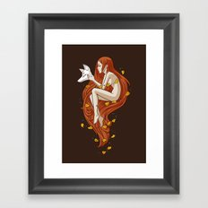 Kitsune Framed Art Print