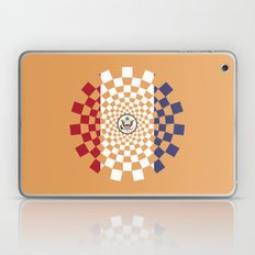 USA cubic flag stylized - spiral time travel USA Laptop & iPad Skin