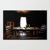 The Governor's Table Canvas Print