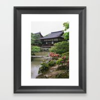 Silver Pavillion Framed Art Print