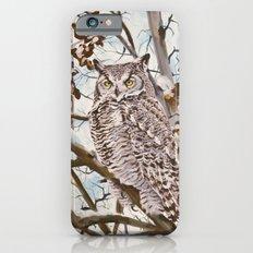 Sam's Great Horned Owl iPhone 6 Slim Case