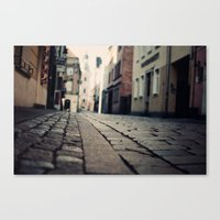 Poznan...an intimate encounter Canvas Print