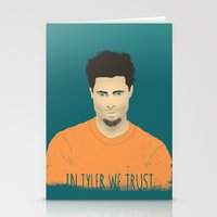 In Tyler We Trust Stationery Cards